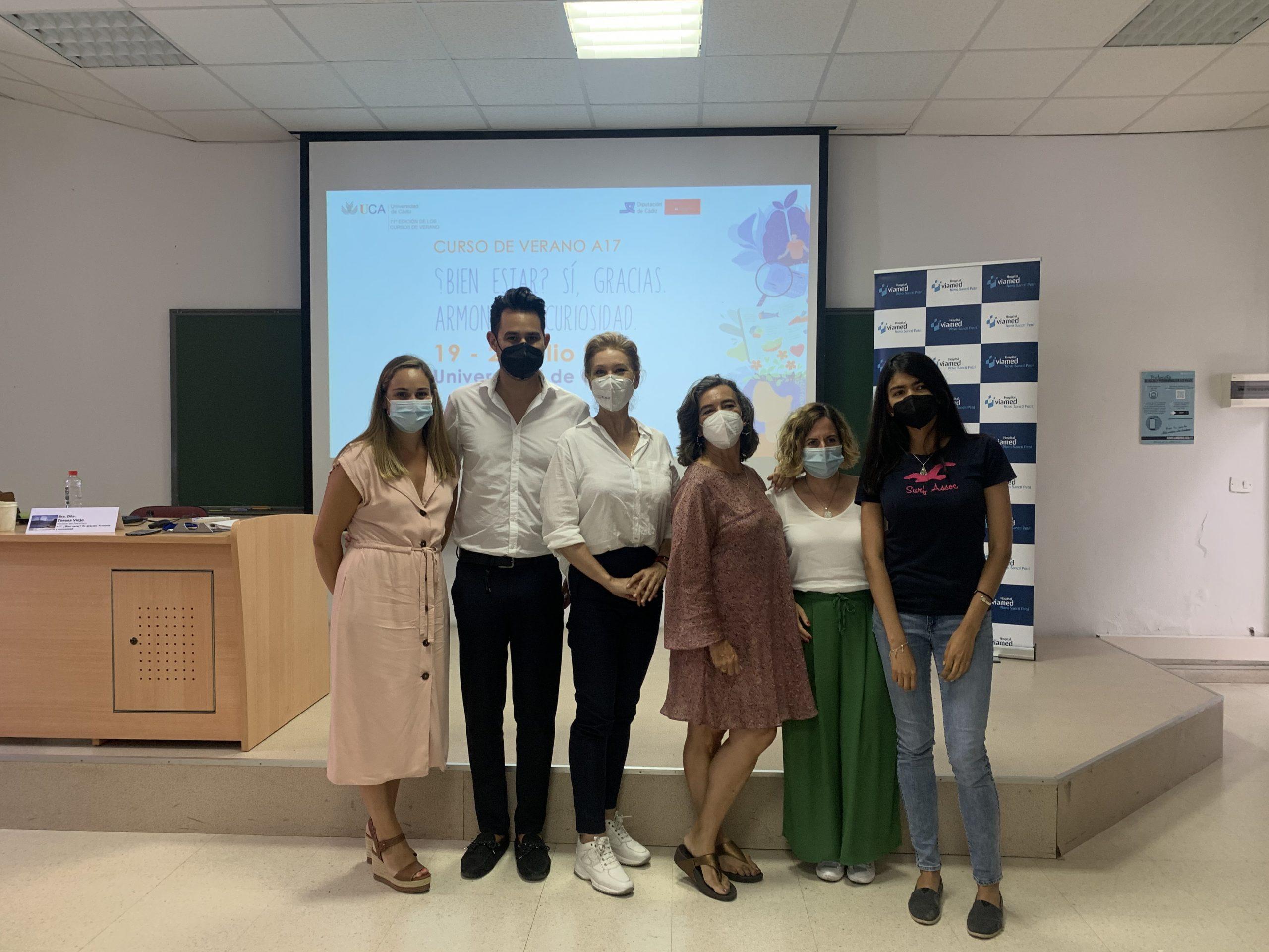 Celebrado el Curso de Verano de la Universidad de Cádiz (UCA) patrocinado por Viamed
