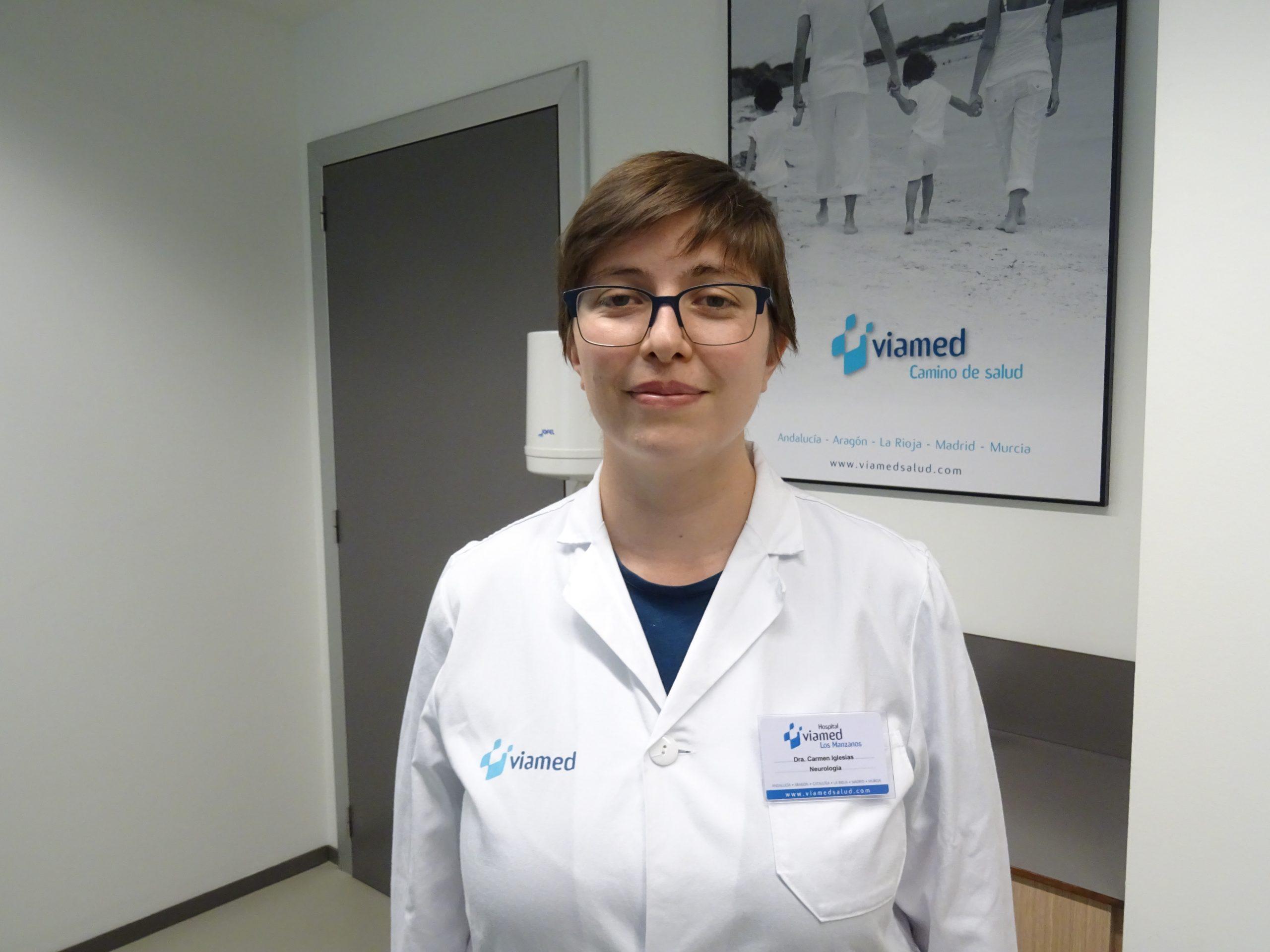 La incorporación de la Dra. Carmen Iglesias Gutiérrez-Cecchini potencia la especialidad de neurología en el hospital Viamed Los Manzanos