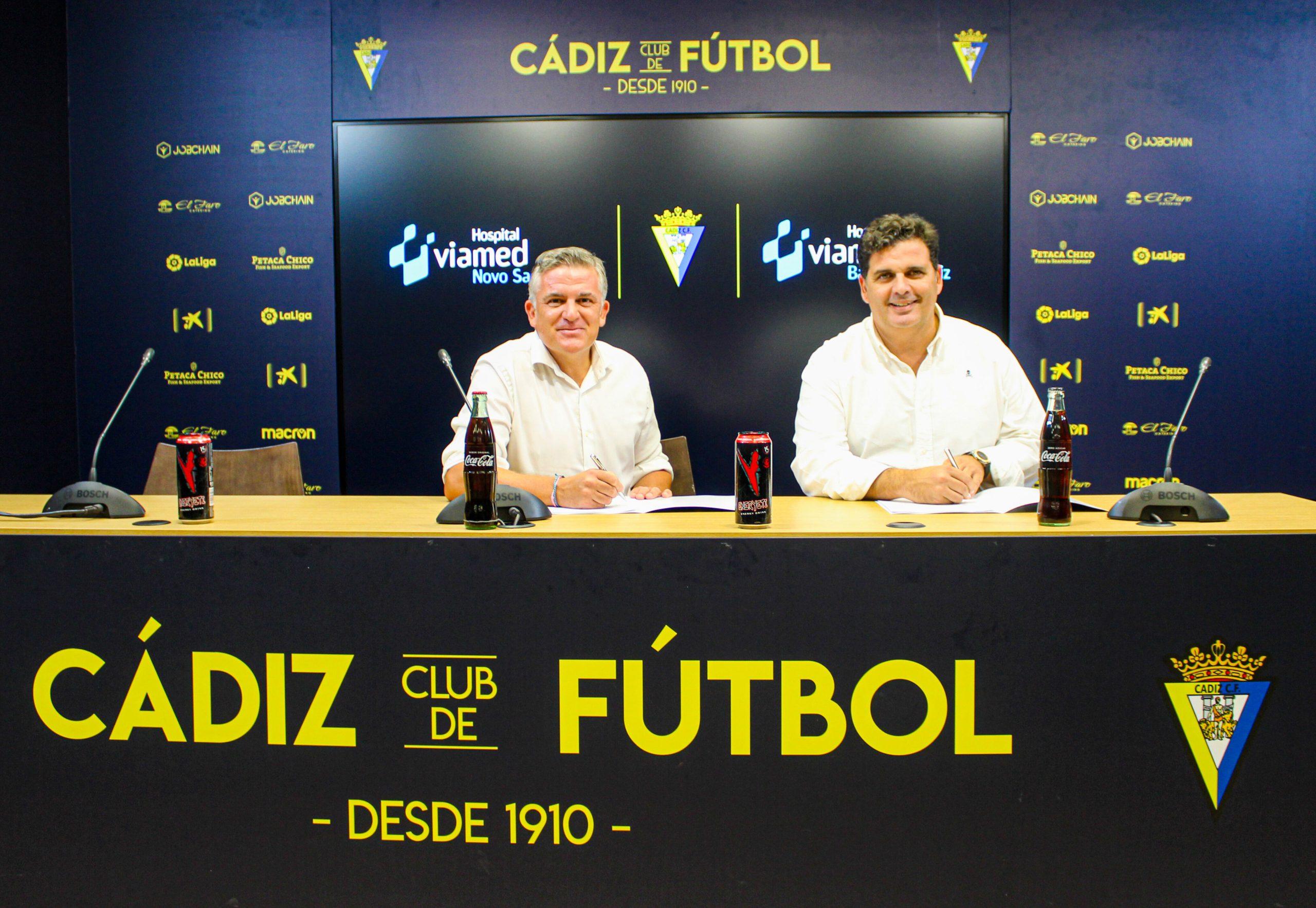 El Cádiz CF y los hospitales Viamed de Cádiz, cuarta temporada de la mano