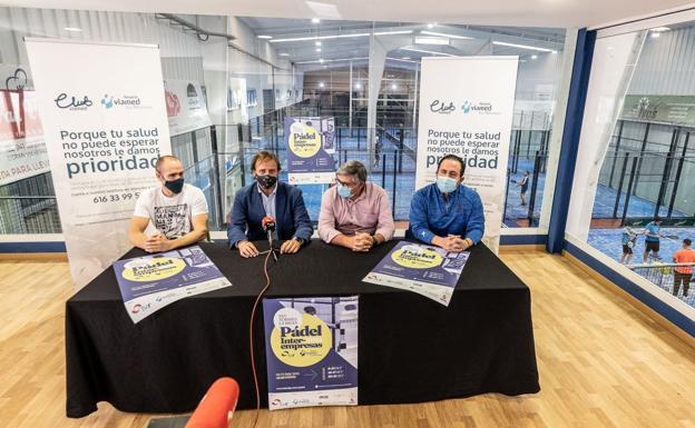 El CLUB VIAMED regala salud a los participantes en el Torneo La Rioja Interempresas de Pádel Viamed-TVR